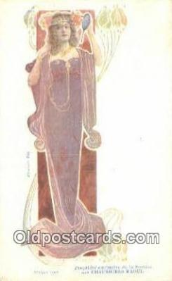 xrt304001 - Madame Sorel Artist Ludvic Postcard Post Card, Old Vintage Antique