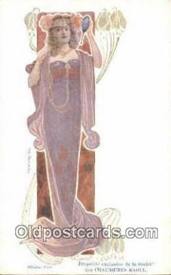 xrt304005 - Madame Sorel Artist Ludvic Postcard Post Card, Old Vintage Antique