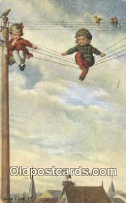 xrt307020 - Artist Fialkowska, Wally Postcard Post Card, Old Vintage Antique