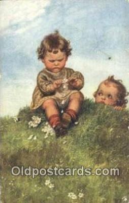 xrt307023 - Artist Wally Fialkowska Postcard Post Card, Old Vintage Antique