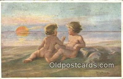 xrt307028 - Artist Wally Fialkowska Postcard Post Card, Old Vintage Antique