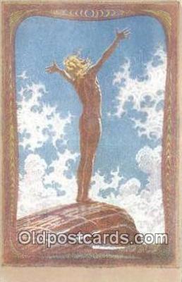 xrt308002 - Artist Fidus Postcard Post Card, Old Vintage Antique