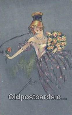 xrt310009 - Series 1846 Artist Kurt, Maison Postcard Post Card, Old Vintage Antique