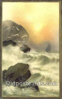 xrt316002 - Artist Morris Postcard Post Card, Old Vintage Antique