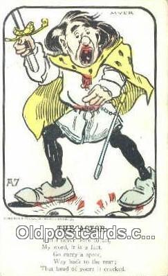 xrt318005 - Aurocrome Series A7 Artist Myer Postcard Post Card, Old Vintage Antique
