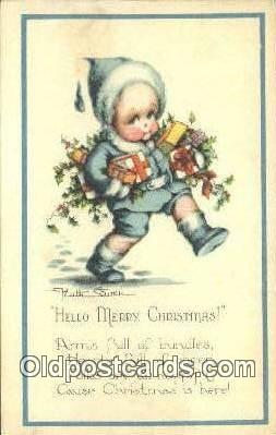xrt321002 - Artist Welch Silver, Ruth Postcard Post Card, Old Vintage Antique