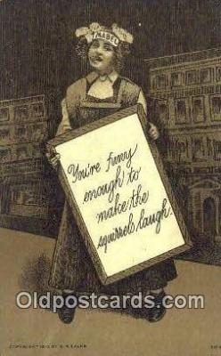 xrt323003 - Artist S.M. Salke Postcard Post Card, Old Vintage Antique