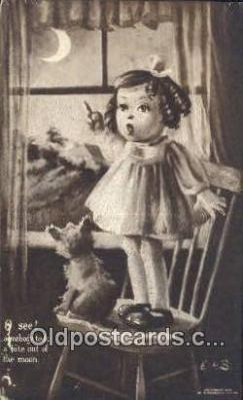 xrt324003 - Artist E.H. Saunders Postcard Post Card, Old Vintage Antique