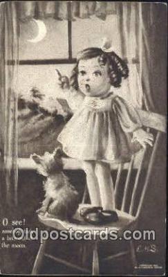 xrt324005 - Artist E.H. Saunders Postcard Post Card, Old Vintage Antique