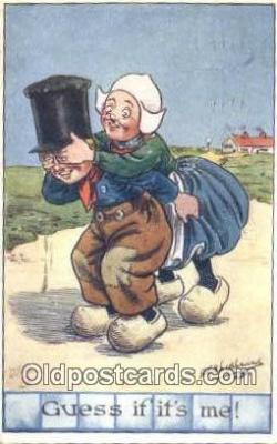 xrt327001 - Series II Artist George Edward Shepard Postcard Post Card, Old Vintage Antique