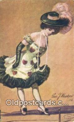 xrt332001 - Artist Edward Wasko Postcard Post Card, Old Vintage Antique