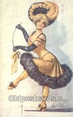 xrt332002 - Artist Edward Wasko Postcard Post Card, Old Vintage Antique
