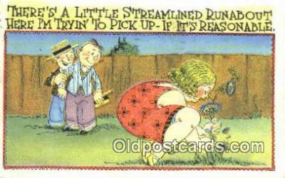 xrt333060 - Artist E.L. White Postcard Post Card, Old Vintage Antique
