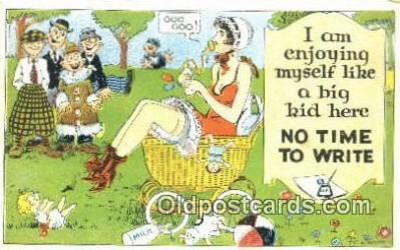 xrt333095 - Artist E.L. White Postcard Post Card, Old Vintage Antique