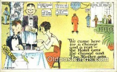 xrt333123 - Artist E.L. White Postcard Post Card, Old Vintage Antique