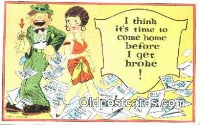 xrt333146 - Artist E.L. White Postcard Post Card, Old Vintage Antique