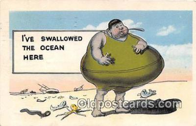 xrt333236 - Artist EL White Swallowed The Ocean Here Postcard Post Card