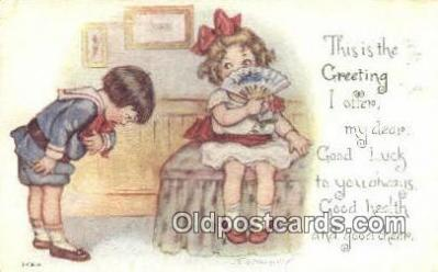xrt334002 - Artist Nosworthy Postcard Post Card, Old Vintage Antique
