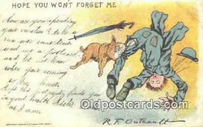 xrt337005 - Artist R.F. Outcault Postcard Post Card, Old Vintage Antique