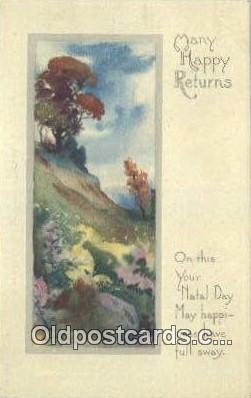xrt338039 - Artist Lyman Powell Postcard Post Card, Old Vintage Antique
