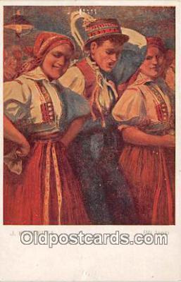 xrt346003 - Artist J Koudelsky  Postcard Post Card