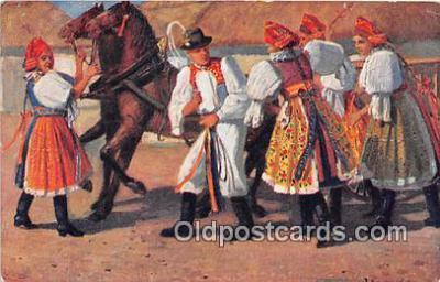 xrt346011 - Artist J Koudelky  Postcard Post Card