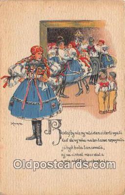 xrt346019 - Artist J Koudelka Pinx  Postcard Post Card