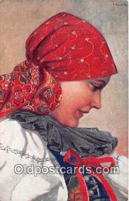 xrt346026 - Artist J Koudelka Pinx  Postcard Post Card