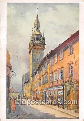 xrt348005 - Artist Prof Jarosl Kousek Brno, Brunn Postcard Post Card