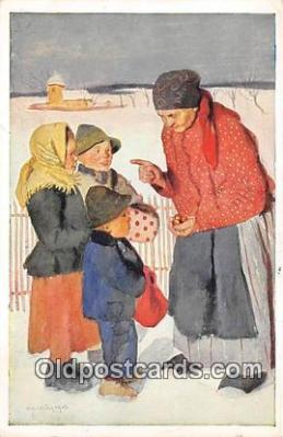 xrt349002 - Artist R Kremlicky Vesele Vanoce Postcard Post Card