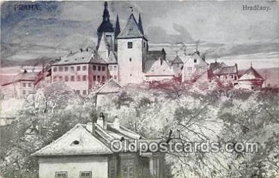 xrt349013 - Artist Vinohrady, Krakourky Hradcany Postcard Post Card