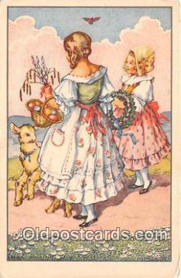 xrt351008 - Artist L Kratochvila Radostne Svatky Veliknoncni Pregje Postcard Post Card