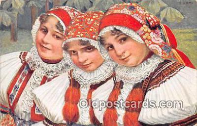 xrt352003 - T Kroje Postcard Post Card