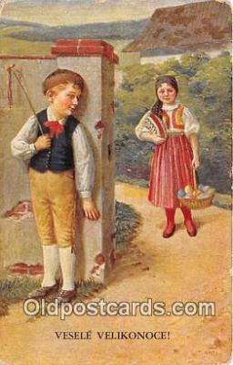 xrt352023 - T Kroje Vesele Velikonoce Postcard Post Card