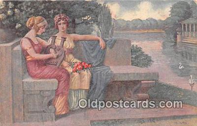 xrt352025 - T Kroj Pisen Touhy Postcard Post Card