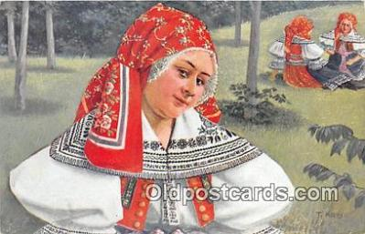 xrt352027 - T Kroje Ceskoslovenske Narodni Kroje Postcard Post Card