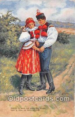 xrt353008 - Ed Kubicka Jenom Ty Mne Postcard Post Card