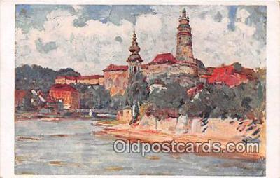 xrt354004 - Artist L Kuba Cesky Krumiov Zamek Postcard Post Card