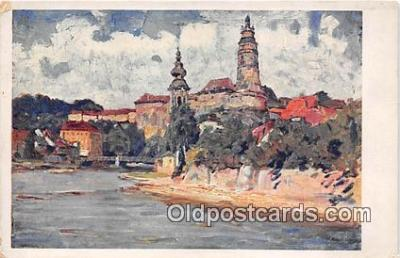 xrt354011 - Kuba Vltava Pod Zamkem Postcard Post Card