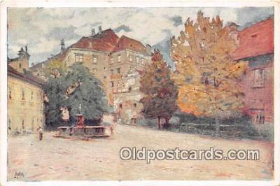 xrt354026 - Ludvik Kuba Cesky Krumlov Postcard Post Card