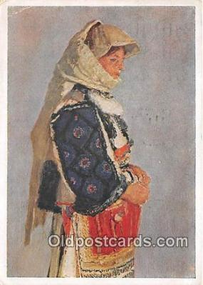 xrt354030 - Ludvik Kuba Narodni Obetina Ve Prospech Postcard Post Card