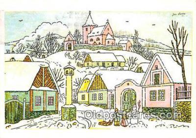 xrt356026 - Artist Josef Lada J Lady Postcard Post Card