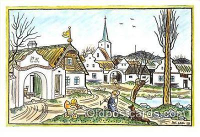 xrt356032 - Artist Josef Lada J Lady Postcard Post Card