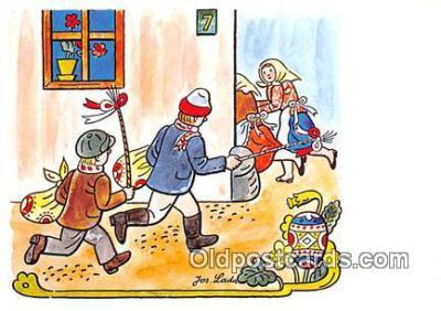 xrt356039 - Artist Josef Lada J Lady Postcard Post Card