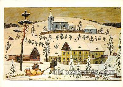 xrt356040 - Artist Josef Lada J Lady Postcard Post Card