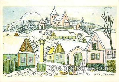 xrt356041 - Artist Josef Lada J Lady Postcard Post Card