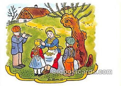 xrt356047 - Artist Josef Lada J Lady Postcard Post Card