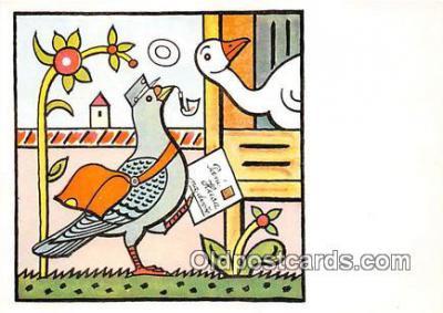 xrt356057 - Artist Josef Lada Postovni Holub Postcard Post Card