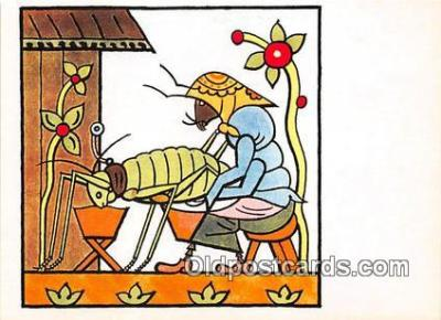 xrt356059 - Artist Josef Lada Msice Pani Mravencove Postcard Post Card