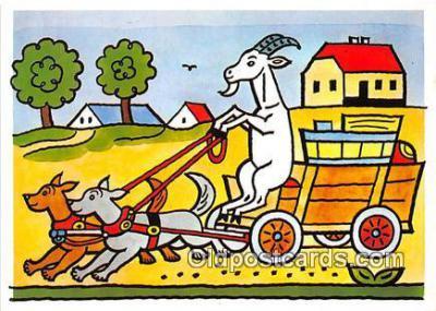 xrt356063 - Artist Josef Lada J Lady Postcard Post Card